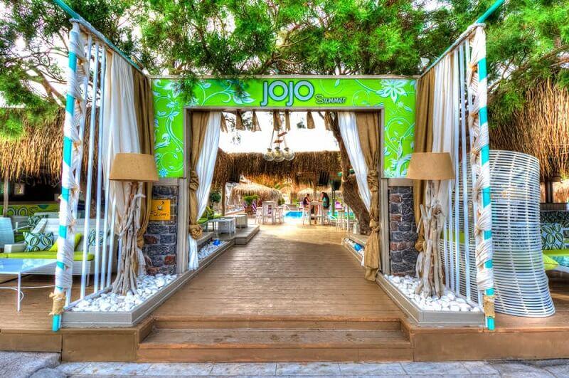 Jojo Beach Bar em Santorini